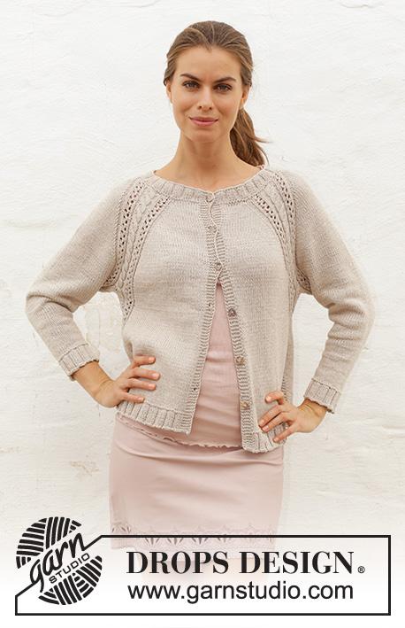 0ed093128d Madrid Cardigan   DROPS 188-20 - Free knitting patterns by DROPS Design