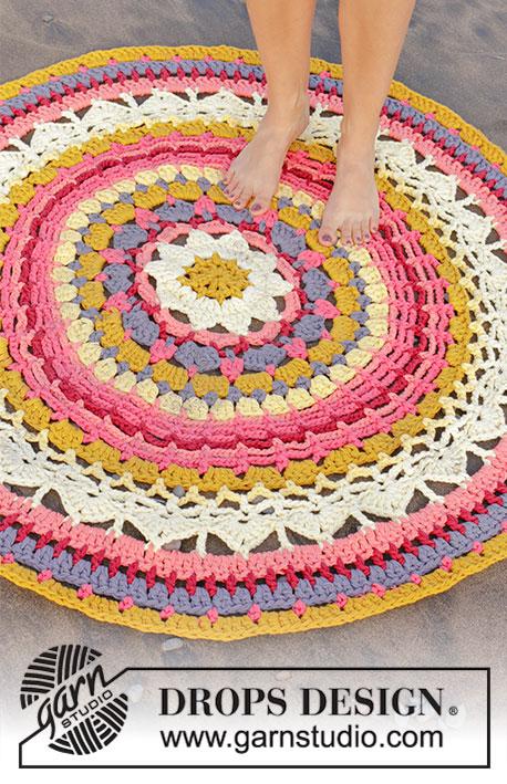 Himalaya Rose / DROPS 189-10 - Kostenlose Häkelanleitungen von DROPS ...