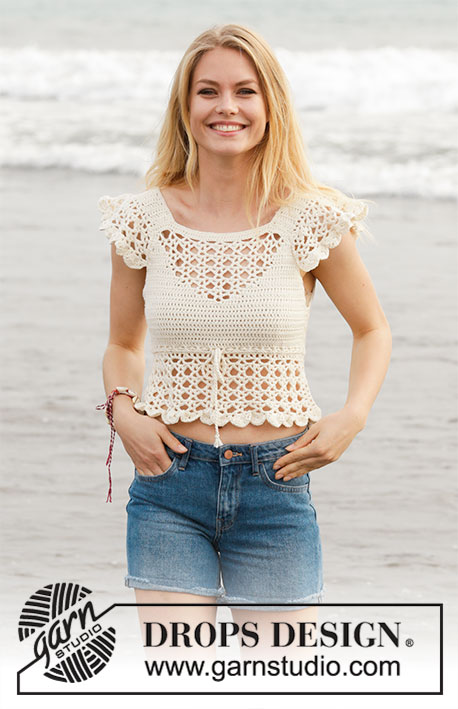 California Dream Drops 190 21 Free Crochet Patterns By Drops Design