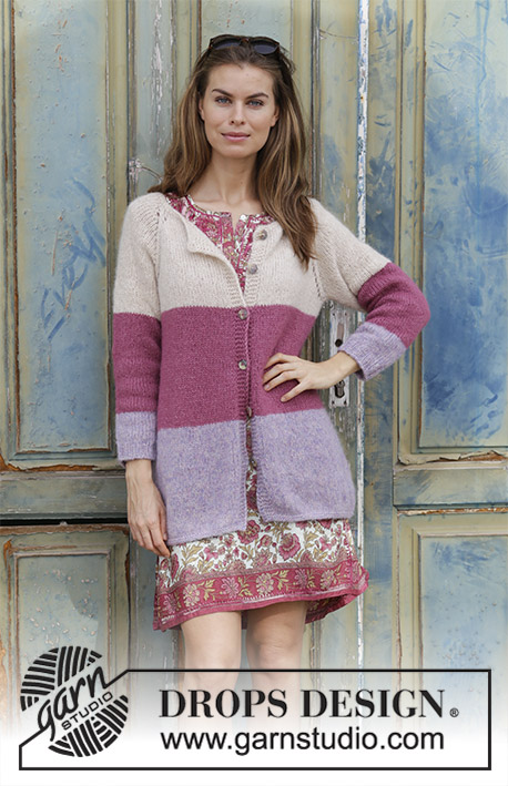 5f48676cb232 Lavender Rose   DROPS 191-25 - Free knitting patterns by DROPS Design