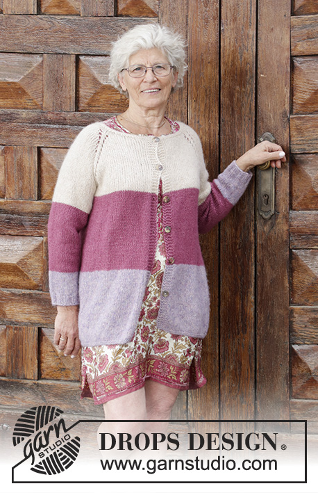 a1b81f29c Lavender Rose   DROPS 191-25 - Free knitting patterns by DROPS Design