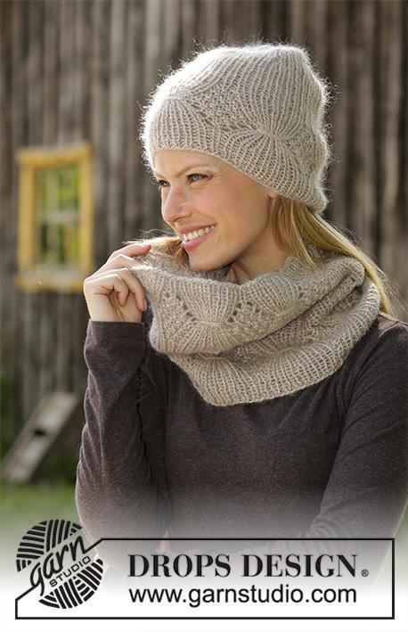 bonnet femme tricot drops