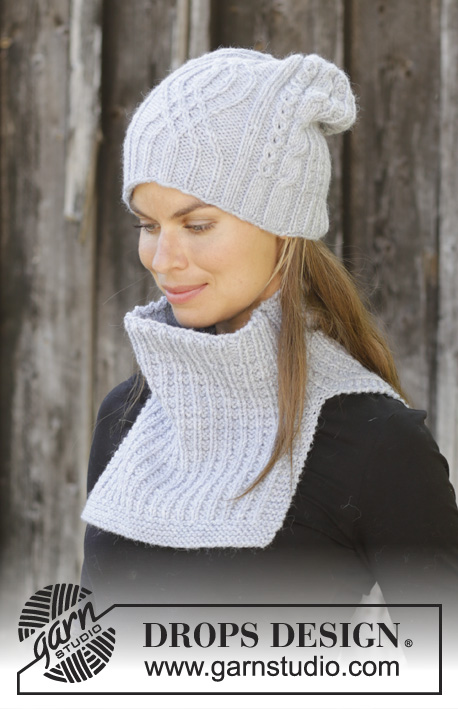 f49c000bc56 Wintry Set   DROPS 192-5 - Free knitting patterns by DROPS Design