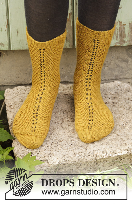Harvest Dance / DROPS 193-8 - Free knitting patterns by ...