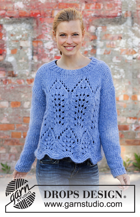4ccbad4f666a Cathedral Windows   DROPS 194-10 - Free knitting patterns by DROPS Design