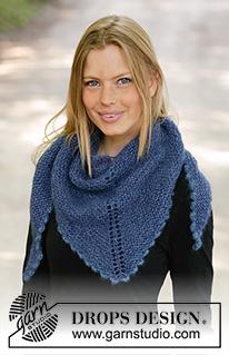 Ponchos, Châles - Modèles tricot et crochets gratuits de DROPS Design 964781c2ebc