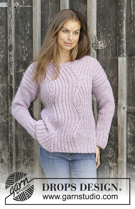 Autumn Blush Drops 194 22 Free Knitting Patterns By Drops Design