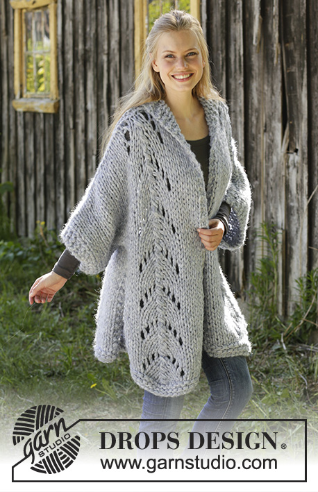 d89c4ffde Comfort Zone   DROPS 196-21 - Free knitting patterns by DROPS Design