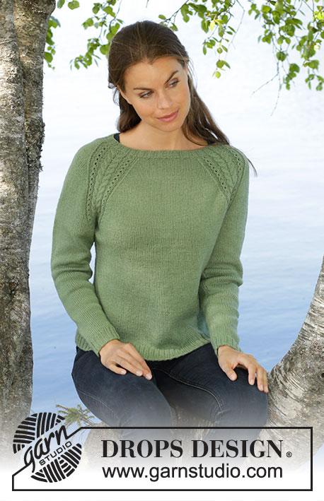 62076ac00b26a5 Green Wood   DROPS 196-29 - Free knitting patterns by DROPS Design