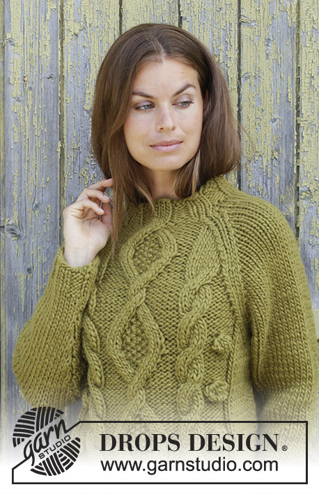 accf51dad69546 Green Tea   DROPS 196-32 - Free knitting patterns by DROPS Design