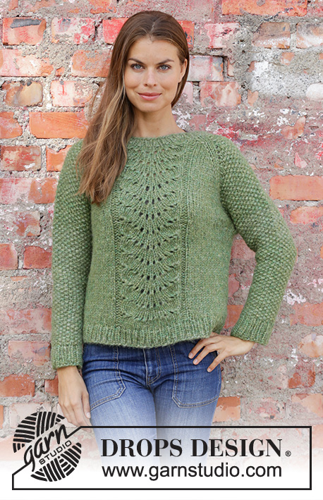 01bc43527b20 Clover   DROPS 196-4 - Free knitting patterns by DROPS Design
