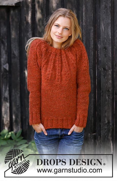 2aa5bc53e8 Clemence   DROPS 197-8 - Free knitting patterns by DROPS Design