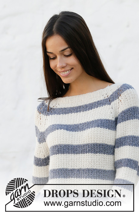 38a5fefb Sjøbris / DROPS 199-1 - Free knitting patterns by DROPS Design