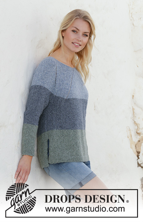 8e1f2a72207e Sweet Nothing Jumper   DROPS 199-18 - Free knitting patterns by ...