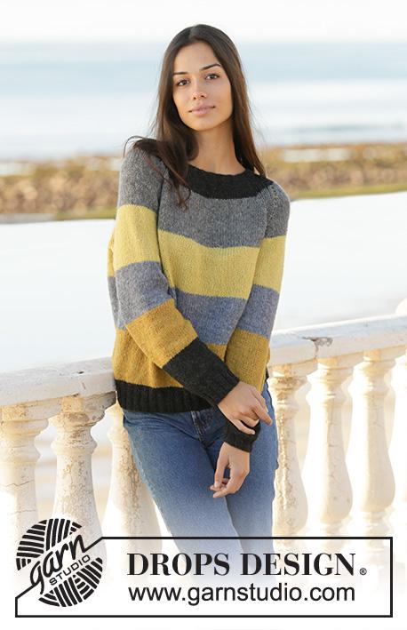 b8d1c60ef3b5bf Bee Stripes   DROPS 200-3 - Free knitting patterns by DROPS Design