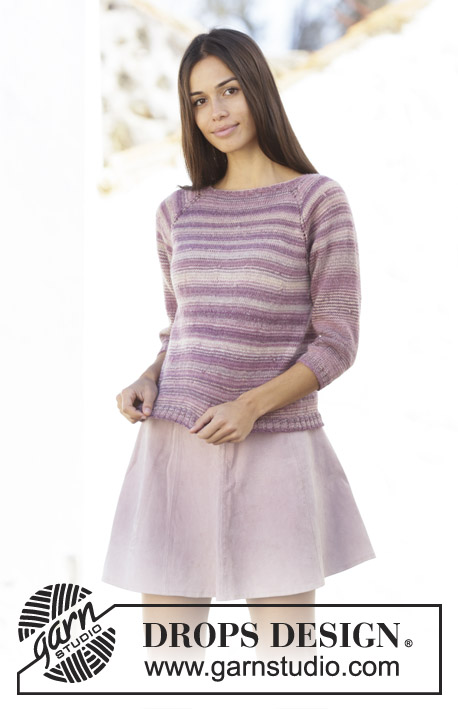 6d9fe90eb Summer Berries   DROPS 201-13 - Free knitting patterns by DROPS Design