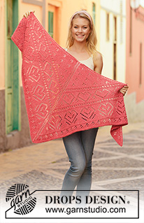 Ponchos & Shawls - Free knitting patterns and crochet