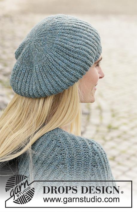 beret femme tricot gratuit