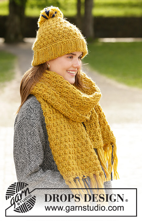 Hello Autumn / DROPS 204-2 - Free knitting patterns by DROPS Design