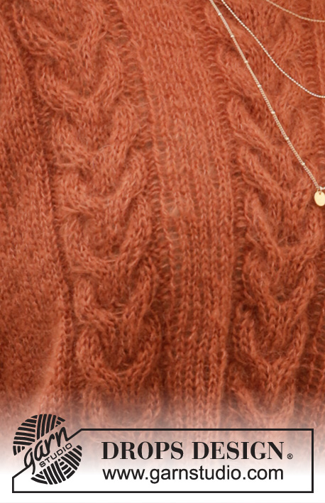 Autumn Trails / DROPS 205-8 - Free knitting patterns by DROPS Design