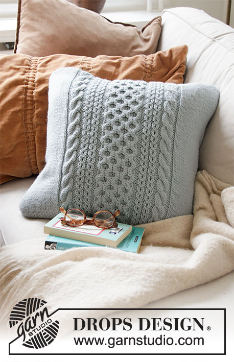 Cabled Pillow  Knitting Pattern