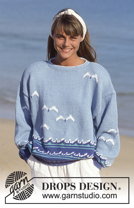 The Pacific Drops 21 15 Free Knitting Patterns By Drops Design