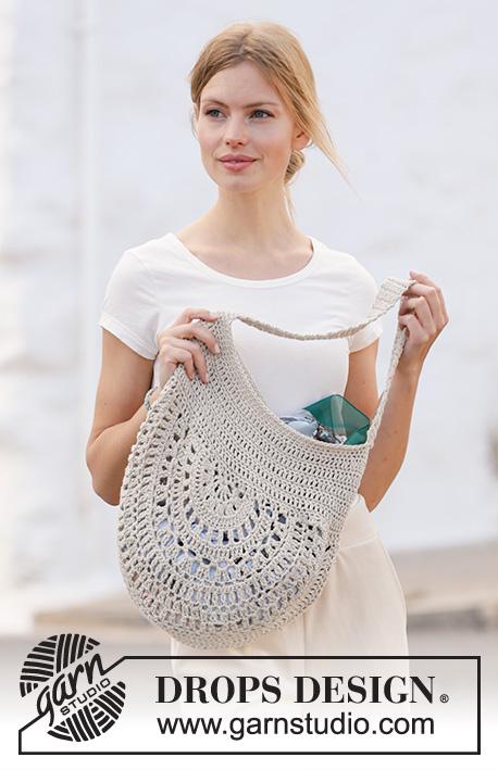 garden paths / drops 211-25 - free crochet patterns by drops design  drops design