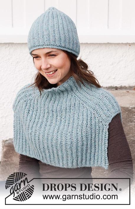 Frozen Falls Set / DROPS 214-34 - Free knitting patterns by DROPS Design