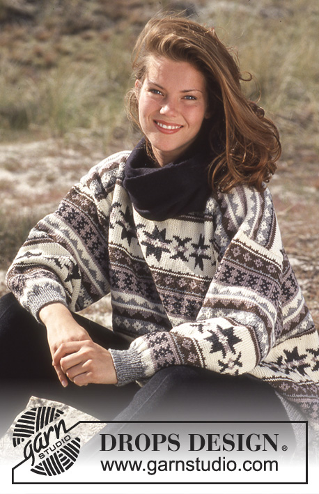 Western Star / DROPS 35-7 - Free knitting patterns by DROPS Design