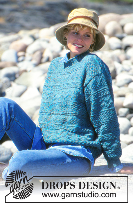 Drops Knitting Patterns : DROPS 40-8 - Free knitting patterns by DROPS Design