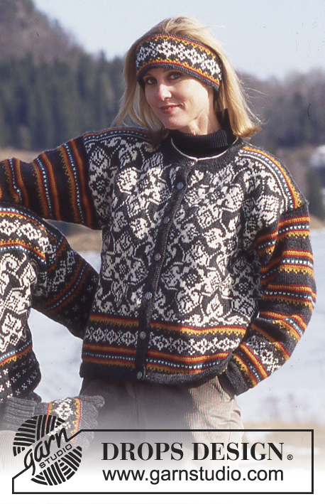 Hanna Drops 52 1 Free Knitting Patterns By Drops Design