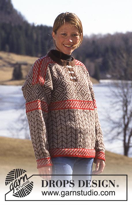 Assez DROPS 52-14 - Modèles tricot gratuits de DROPS Design CF07
