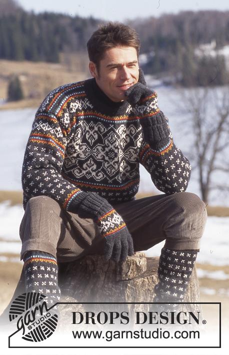 Super Catalogue DROPS 52 - Free knitting & crochet patterns NS29