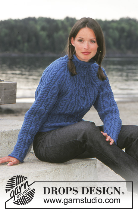 ad5cc3819 Swirling Water   DROPS 67-8 - Free knitting patterns by DROPS Design