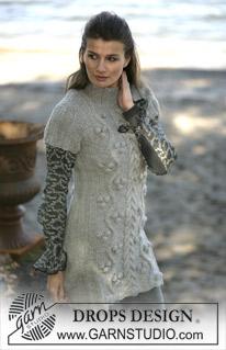 Туніка-сукня з довгими або короткими рукавами