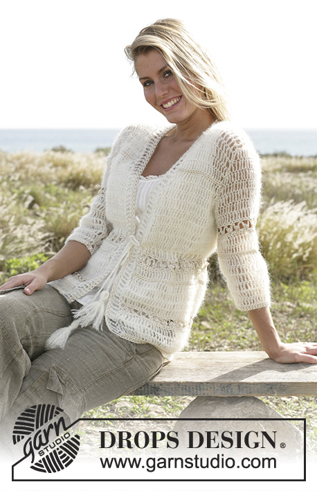 Sandrine / DROPS 99-10 - Free crochet patterns by DROPS Design