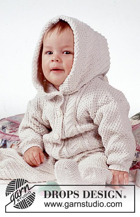 Cuddle Bug / DROPS Baby 1-1 - Patrones de punto gratuitos por DROPS ...