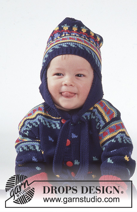 80543f572266a Liam   DROPS Baby 1-12 - Free knitting patterns by DROPS Design