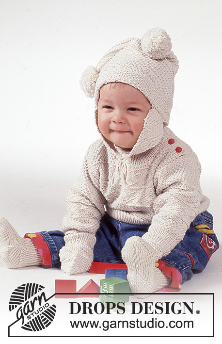 8517d86c0 Winter Bunny   DROPS Baby 1-2 - Free knitting patterns by DROPS Design