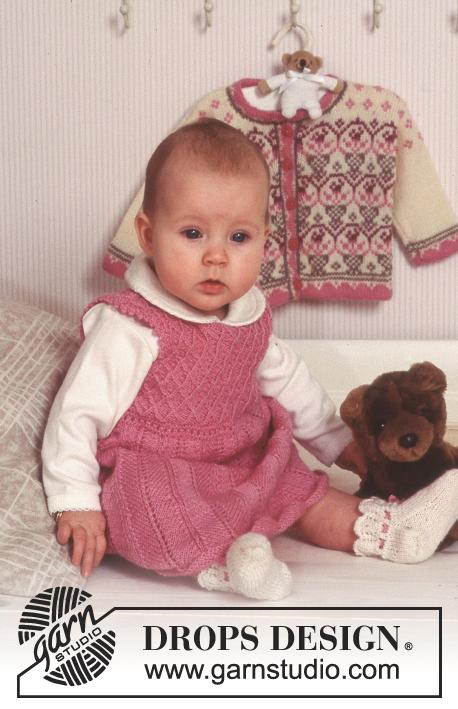 2033a3e9 Sweet Rosie / DROPS Baby 11-4 - Gratis strikkeopskrifter fra DROPS Design