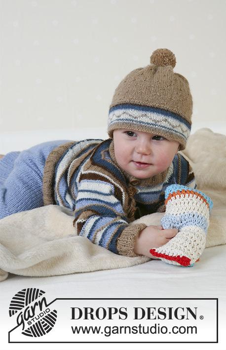c5f43b5b Swab the Deck / DROPS Baby 13-12 - Gratis strikkeoppskrifter fra DROPS  Design