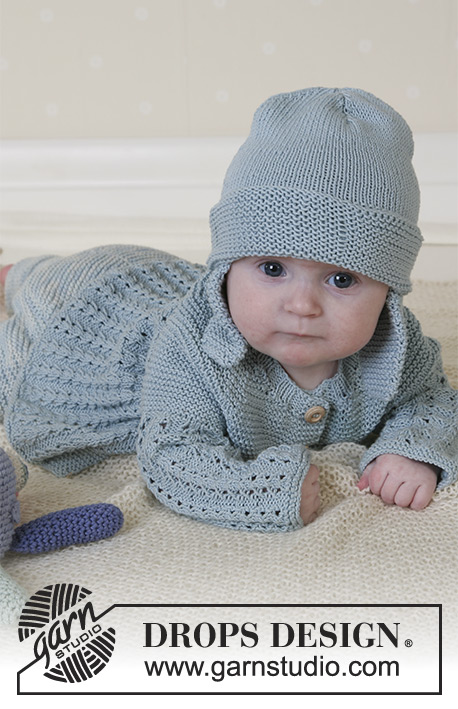 37293716390 Seaport Baby   DROPS Baby 13-2 - Free knitting patterns by DROPS Design