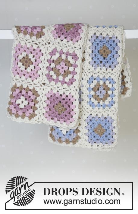 Granny\'s Hugs / DROPS Baby 13-24 - Free crochet patterns by DROPS Design