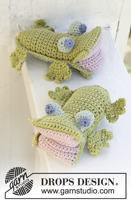 Hoppy the Frog / DROPS Baby 13-25 - Kostenlose Häkelanleitungen von ...