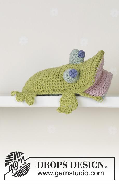 Hoppy the Frog / DROPS Baby 13-25 - Patrones de ganchillo gratuitos ...