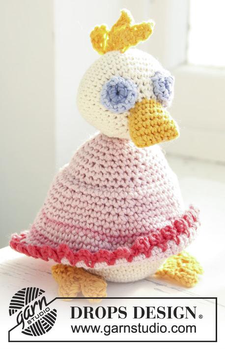 Mama Duck / DROPS Baby 13-29 - Kostenlose Häkelanleitungen von DROPS ...