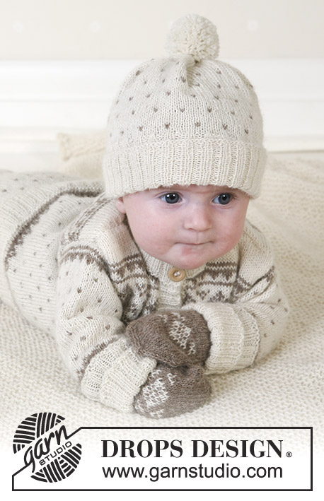0cb953ace Winter Snuggles   DROPS Baby 13-5 - Free knitting patterns by DROPS ...
