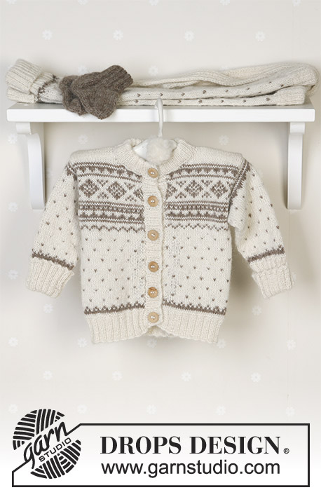Winter Snuggles / DROPS Baby 13-5 - Patrones de punto gratuitos por ...