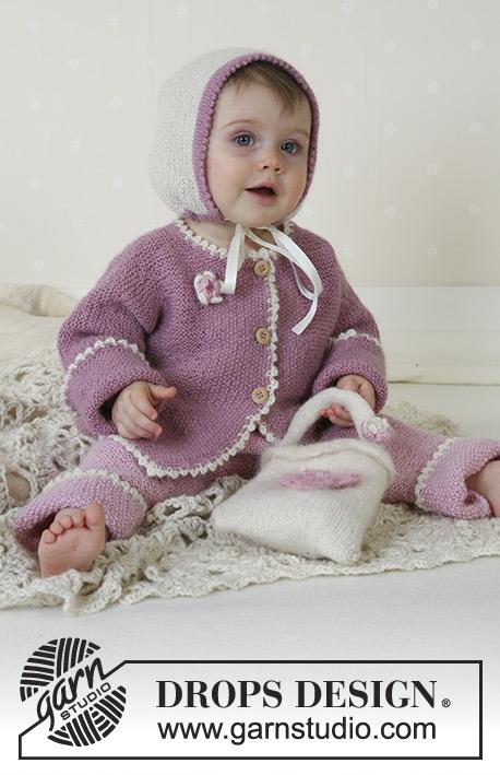 Little Lisa / DROPS Baby 13-6 - Patrones de punto gratuitos por ...