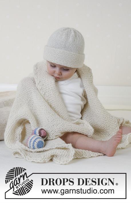 Petit Crème / DROPS Baby 14-12 - Patrones de punto gratuitos por ...